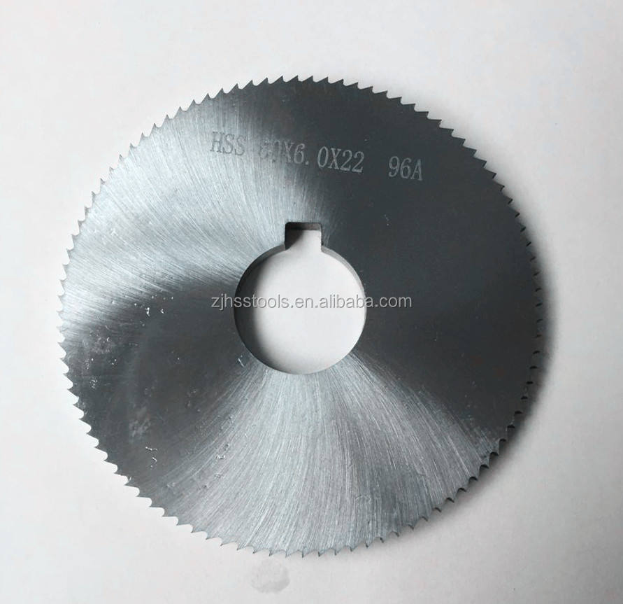 hss metal slitting 80mm slitting saw blade