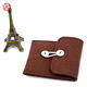 New products on china market lovely felt coin purse in brown color