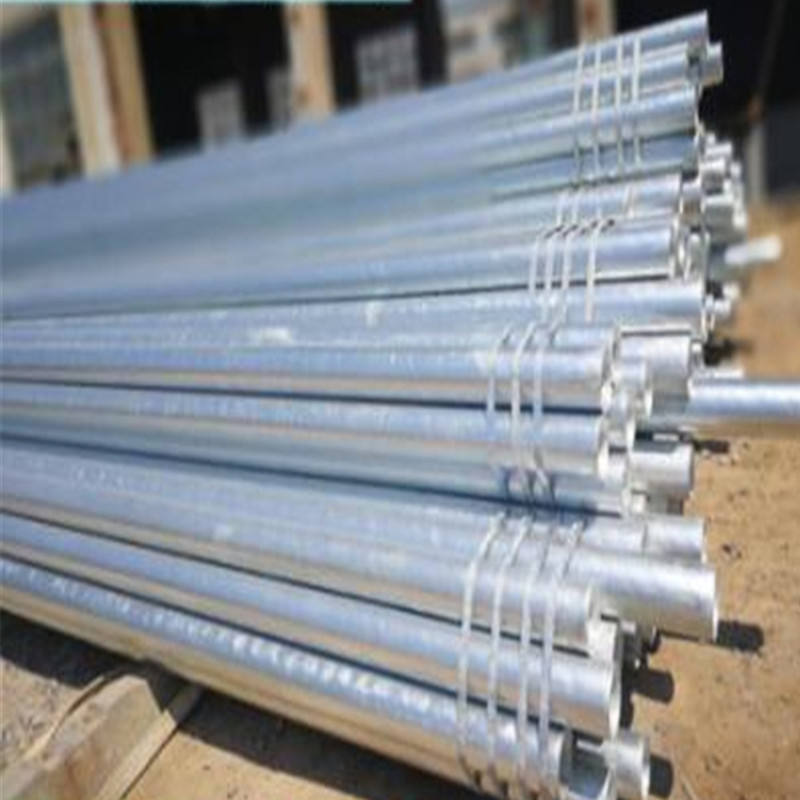 "1/2"" to 2"" sch80 iron round Galvanized Steel pipe"
