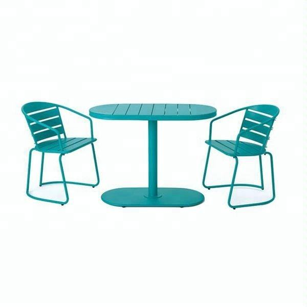 Monica Outdoor Fertig Eisen Bistro Set