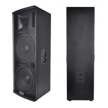 Accuracy Pro Audio WH215 Dual 15 Inch High Power 800W  Best Concert 3-Way Wooden Speaker Box