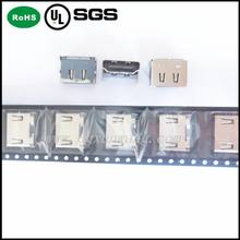 High quality wholesale 19PIN SMT FEMALE HDMI CONNECTOR
