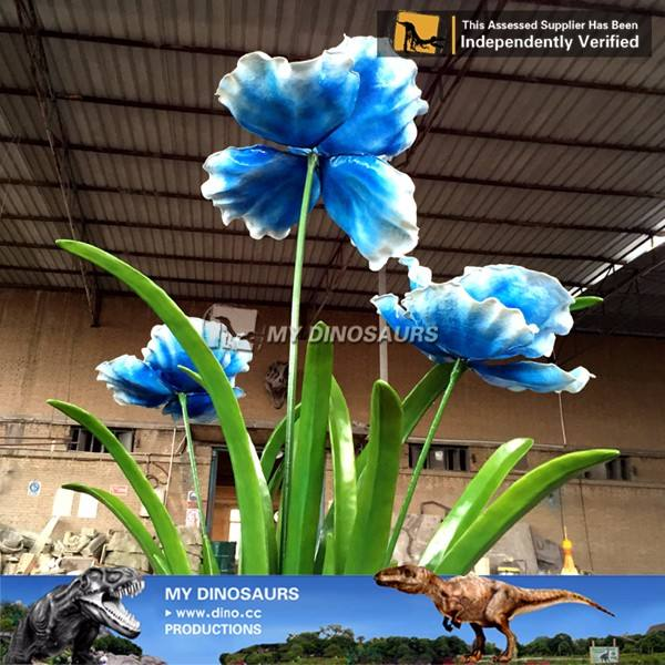 MY DINO Theme Park Decorations Artificial Animatronic Flowers