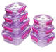 Tritan material stackable bento box