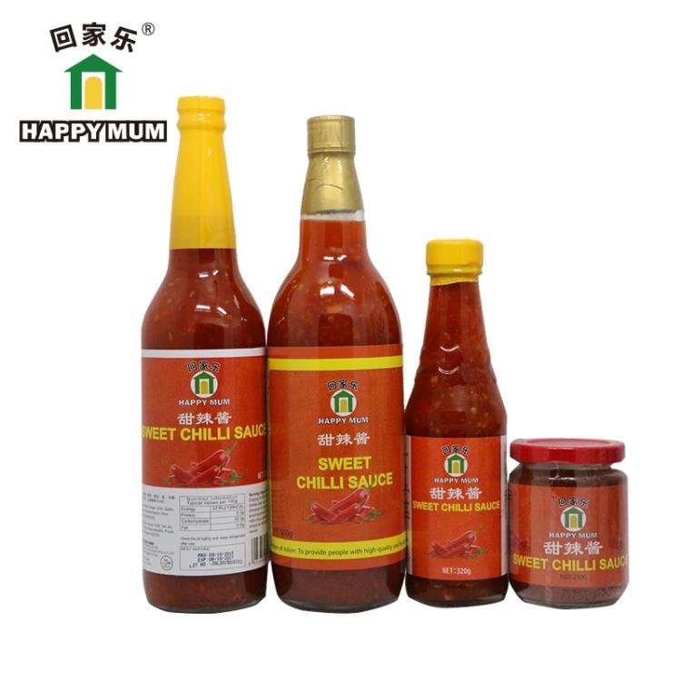 Since 1998 Chinese factory Good taste hot sweet chili sauce Spicy Oriental Sauce