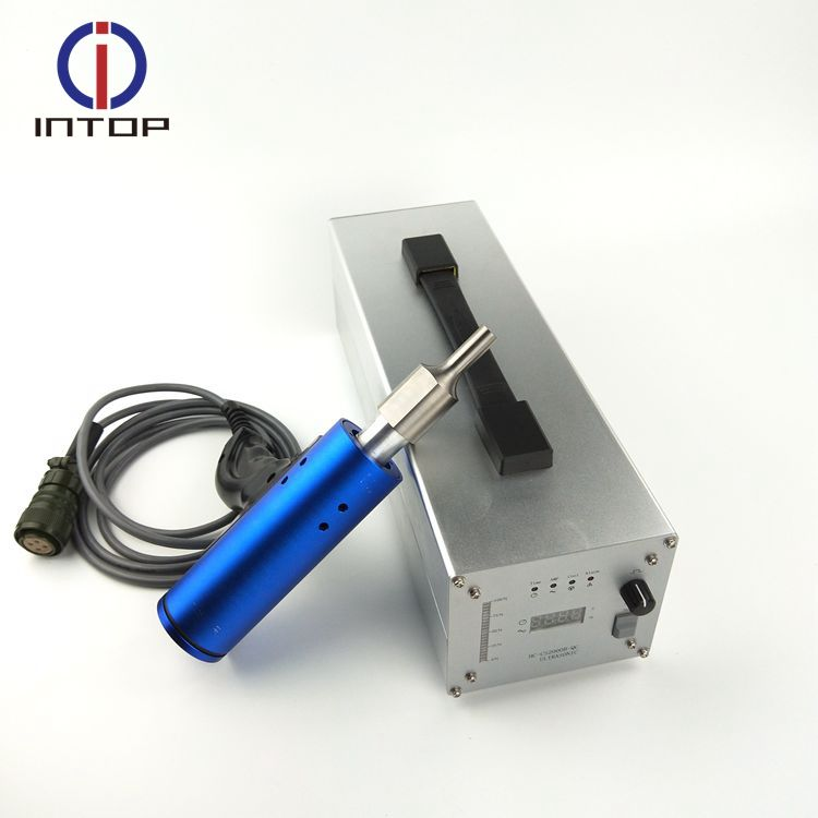 China supplier portable ultrasound 35khz manual ultrasonic welding machinery for pvc spot welding
