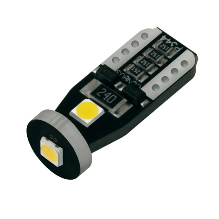 3SMD 3030 T10 Canbus 6000 k Wit LED Auto Breedte Lamp Interieur Parking Light 12 v DC Geen Fout
