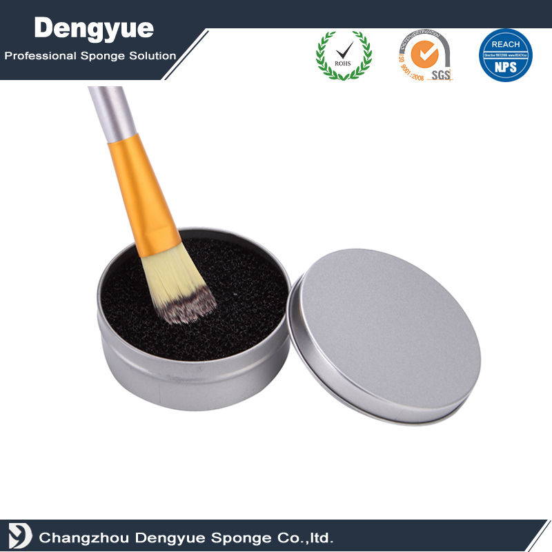 Makeup Brush Dry Clean Sponge No Need to Wash 5 seconds Cleaner