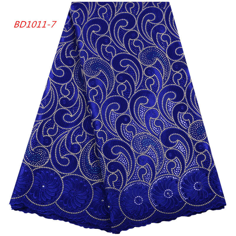 Royal Blue African Lace 2019 Cord Lace Fabric African Lace 5 Yards 1425
