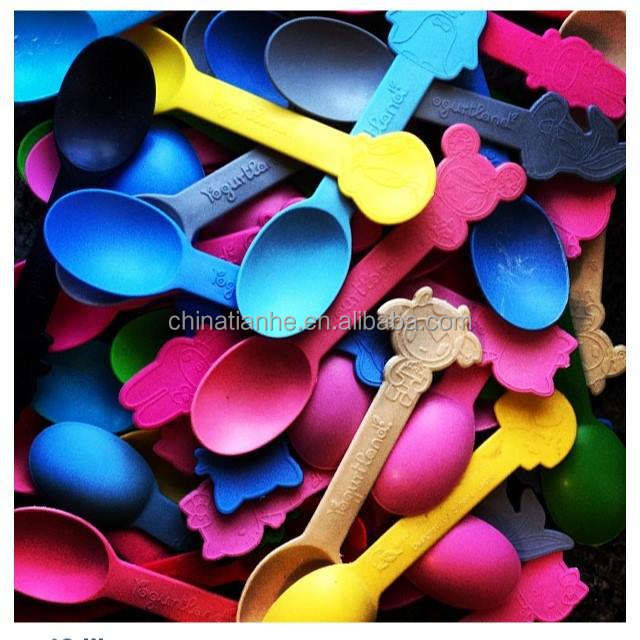 biodegradable yogurt spoon