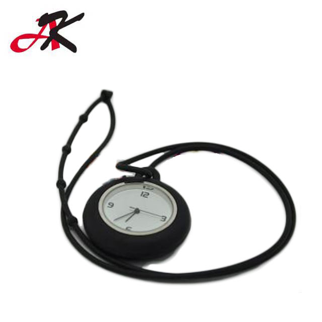 Waterproof Brooch Nurse Pocket Doctor Watch Silicone Rubber Digital Nurse Watch