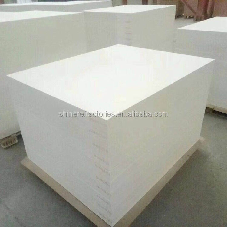 High quality 1050-1900C ceramic fiber board for thermal insulation