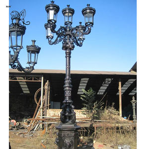 iron lamp/vintage cast iron street lamp iron lamp post ILA-03
