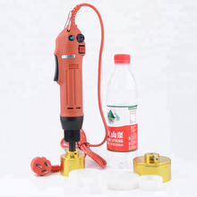 Manual Hand-held Plastic Bottle Red Screw Capping Machine Ships From Russian Federation