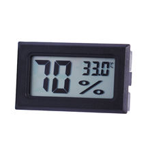 Mini Digital LCD Indoor Convenient Temperature Sensor Humidity Meter Thermometer Hygrometer Gauge