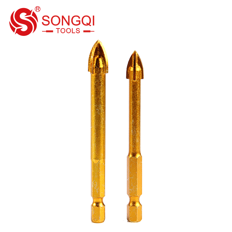 Cross Head Glass Tile Drill Bits for Glass Ceramic Tile Drilling