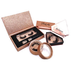 Own brand top quality private label eyelashes and custom lash box packaging