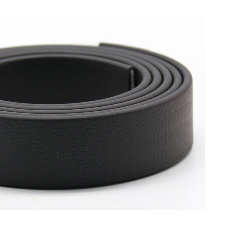 Feel Like Leather PVC Coated Polyester Webbing For Safety Belt With High Tensile Strength