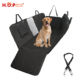 Waterproof Anti Slip Car Back Dog Hammock Pet Car Seat Cover With Mesh Window Side Flap