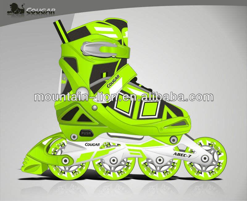 patins à roues alignées patins à la figure à la mode