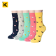 KT1-A268 custom soft comfortable best female cotton sock for women and ladies in underwear cheap women's socks