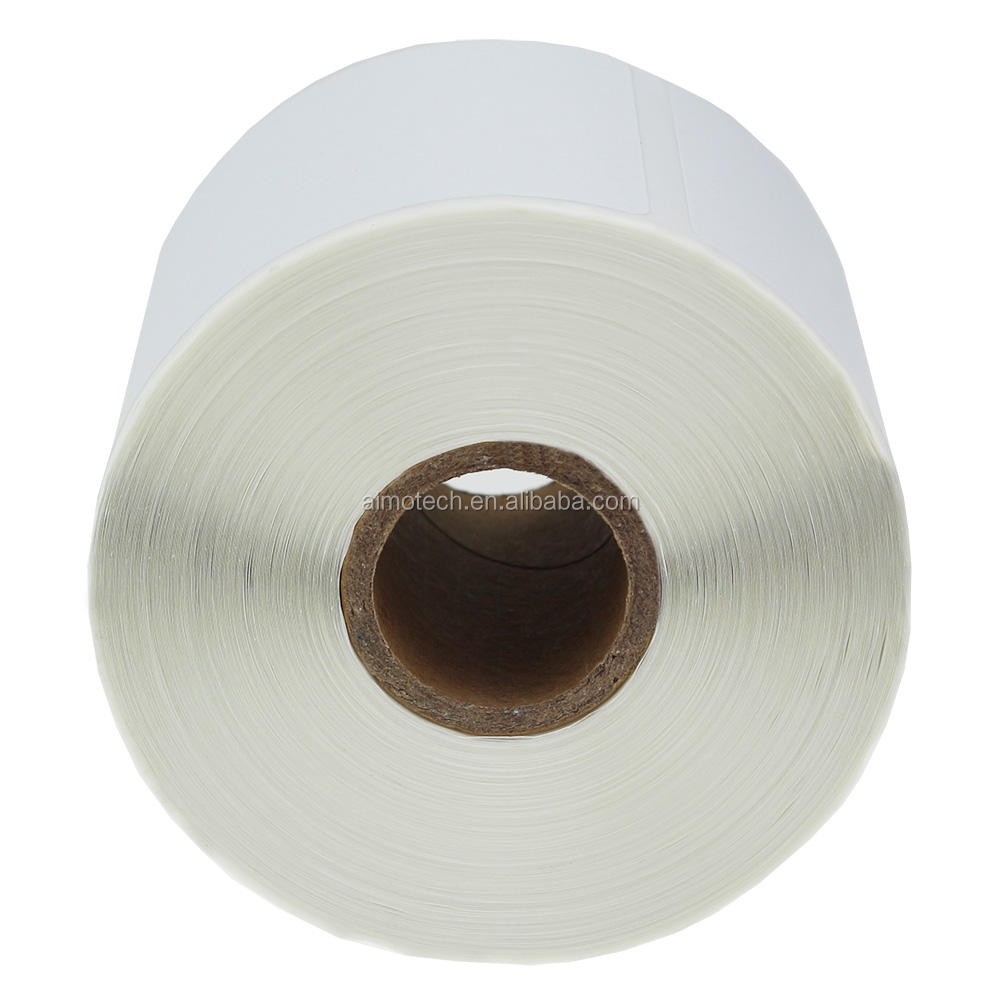 "Compatible Direct Thermal Paper Roll 30256 for Dymo Label Top Labels LW Shipping Labels 2 5/16"" x 4"""