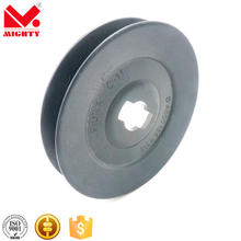 stainless steel idler pulley double v belt pulley nylon rope pulley