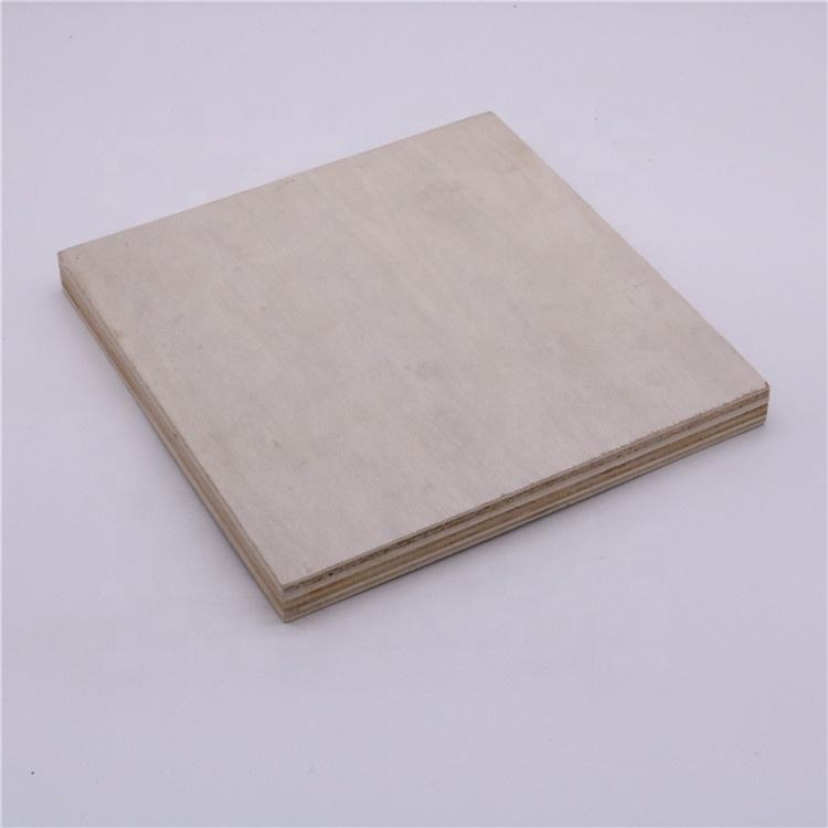 E1 gule Peeling veneer 18mm laser cutting plywood made in china