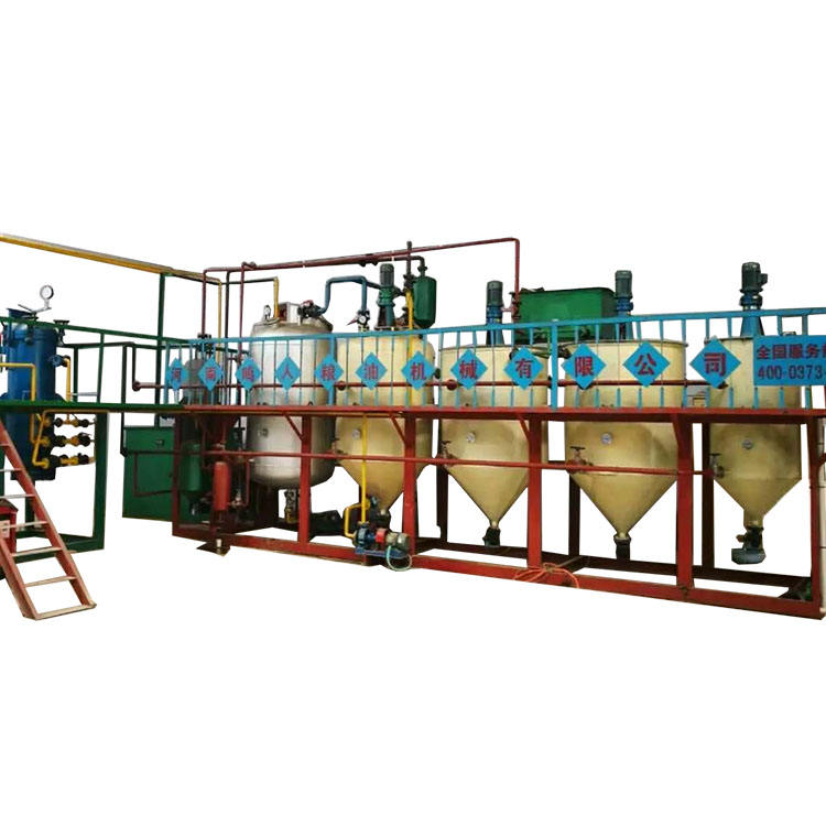 Automatic Vegetable oil production line for Peanut ,Soybean and Rapeseed oil