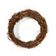 grapevine wreath Christmas decorations DIY Natural straw door wreath