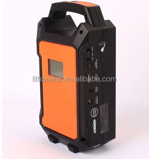 High capacity 36000mah jump starter battery with light weight and 3000 cycles 12v/24v jump starter