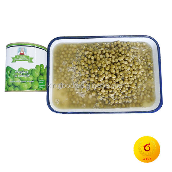 800G Canned Green peas for sale to chile