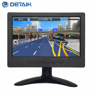 OEM 7 Inc 4-Wire Touch Computer Monitor Low Prices 7 Inch TFT-LCD Touch Screen Car VGA Monitor