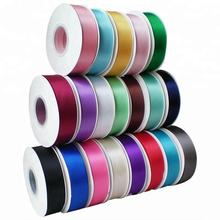 Factory Luxury 196 Colors  1 inch Double Face Satin Ribbon,ribbon roll satin