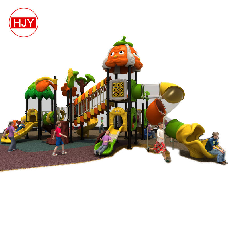 Complex Slides/Plastic Tree House/Kids Play Center Outdoor Playground for sale