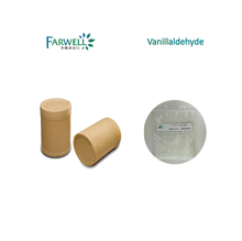 Farwell Food Flavour 99% pure Vanillaldehyde/ vanillin powder price CAS 121-33-5