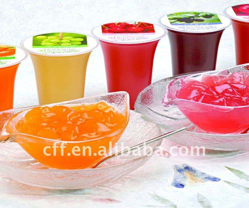 Jelly drinking flavours