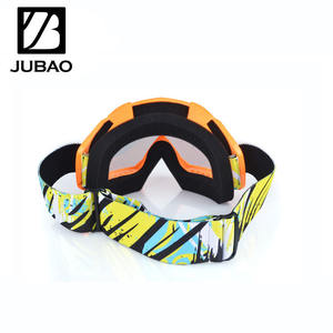 Top selling anti slip silicon strap gafas motorcycle motocross goggles