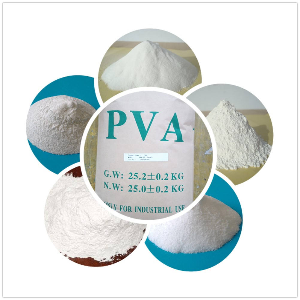 cold water dissolved pva resin/ water soluble resins polymer for bonding wall putty tile adhesive