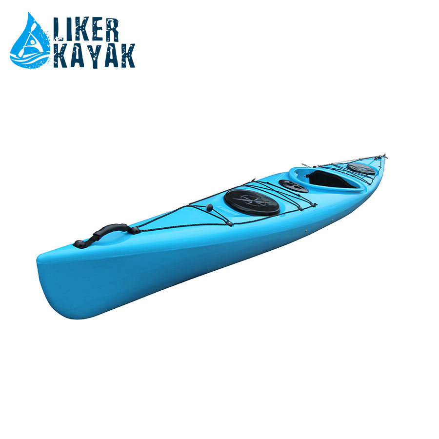 4.5m single seat for sit on sea kayak made in china