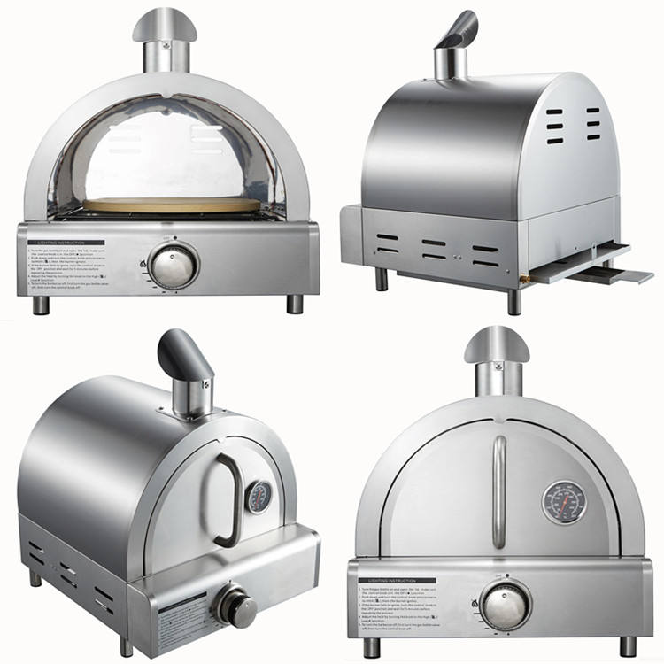 Best selling gas fired outdoor pizza oven