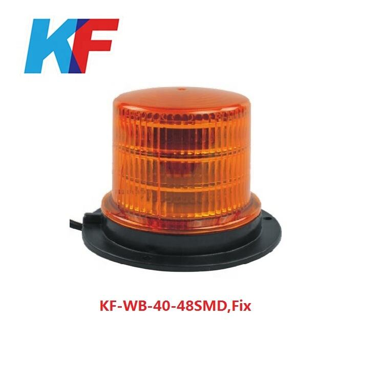ECE R10 car LED warning light, ,police strobe light,ambulance light,KF-WB-40-48SMD,FIX