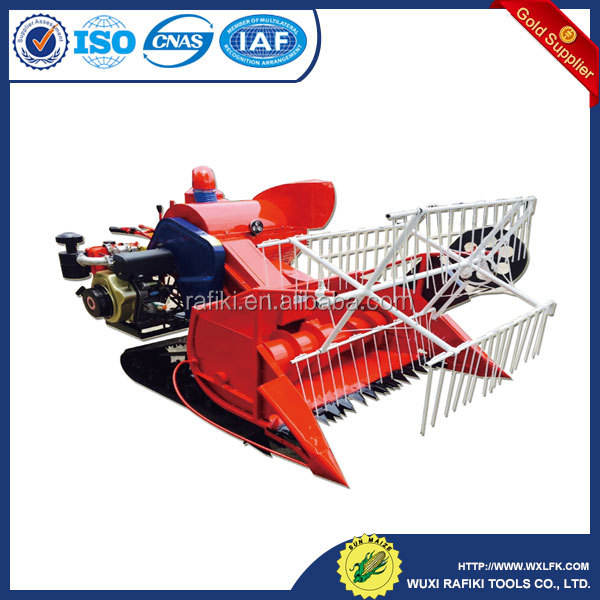 TRIANGULAR CRAWLER COMBINE HARVESTER SMALL HARVESTER MINI HARVESTER