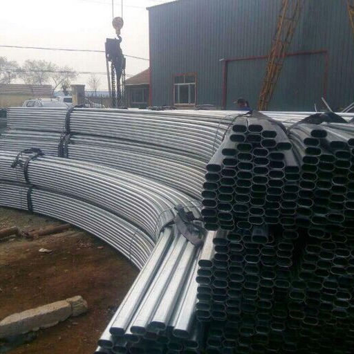 Cheap High impact elliptical pvc tube/pipe gray color for water supply