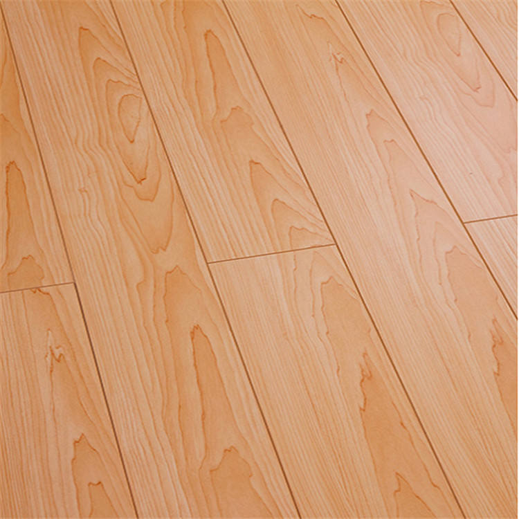 Customized Color AC4 HDF Water Resistance Parquet Laminate Flooring