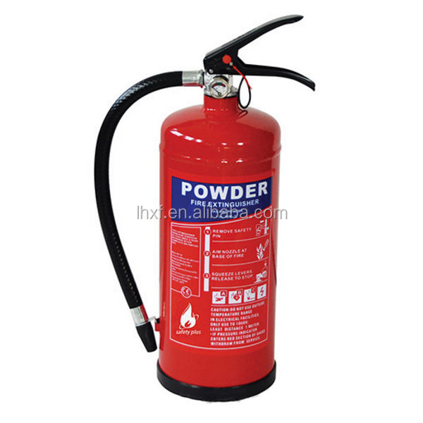 CE approved ball cylinder 12KG BC/ABC dry chemical powder automatic fire fighting extinguisher