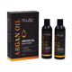 Private Label Pure Moroccan Organic Best hair growth Argan Oil Shampoo And Conditioner set