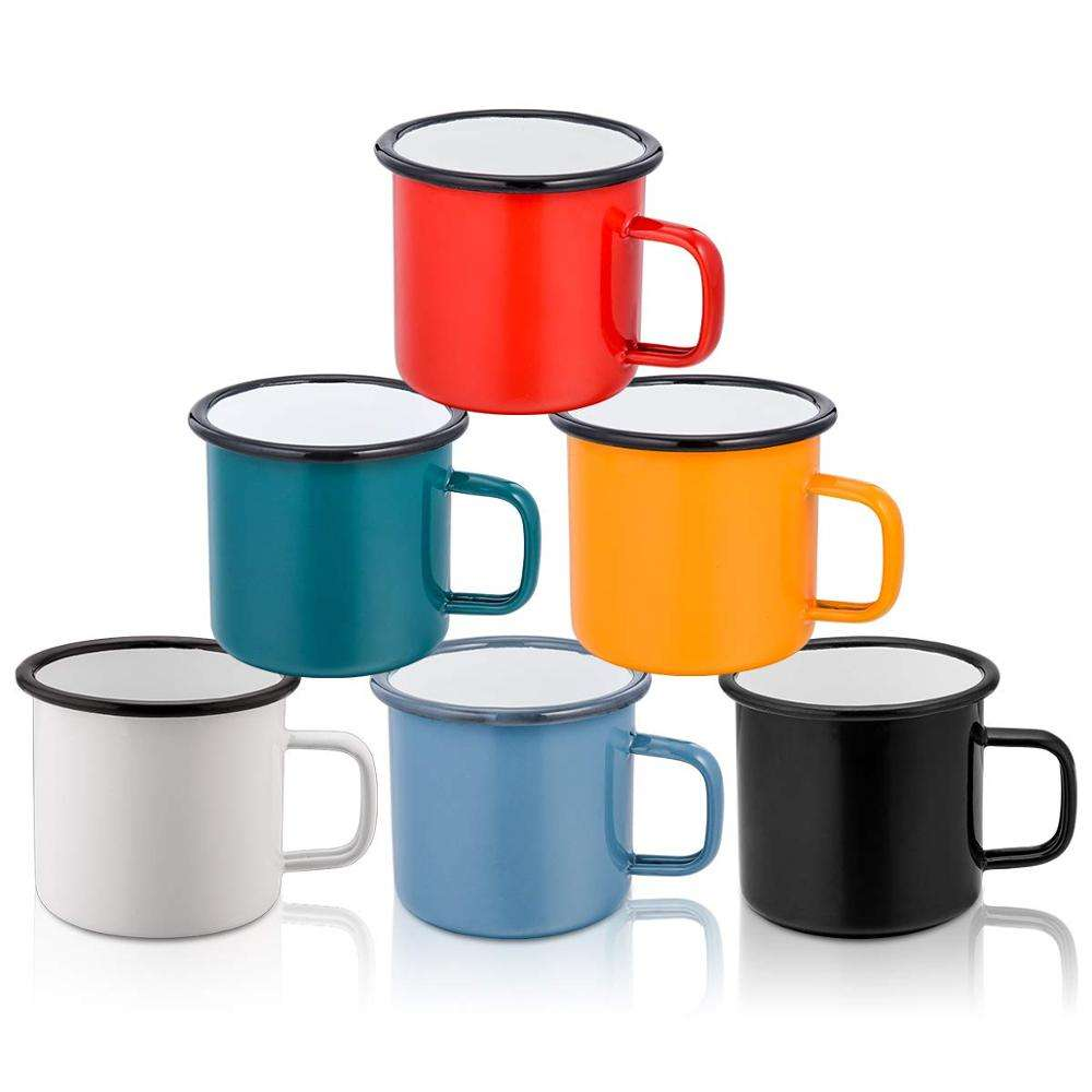 2019 New Arrival hot sale custom enamel Coffee/Tea mug for funny home bar gift and travel camp