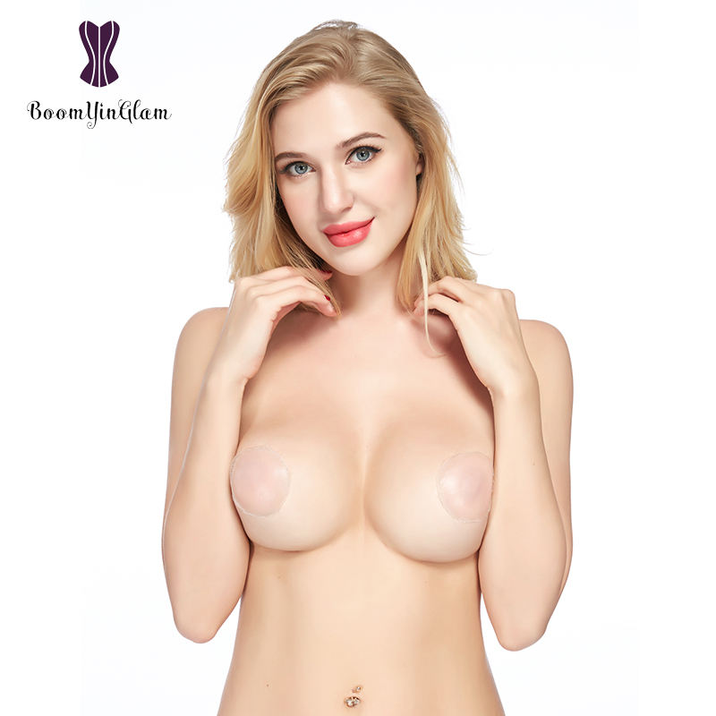2018 Top Selling In Amazon Sexy Silicone Nipple Covers Patch Bra Pads Stick On Boobs For Women