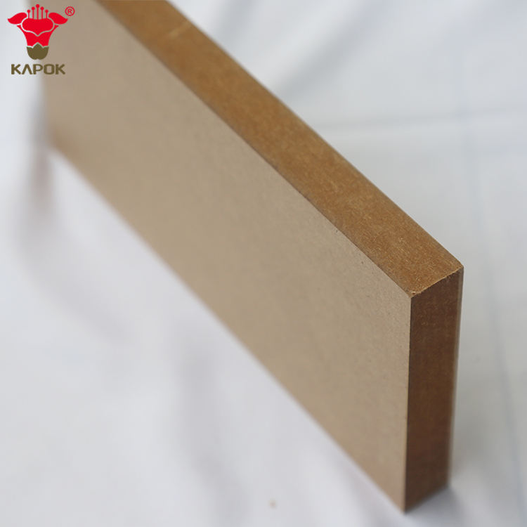 Double faces melamine faced mdf board thailand 2.5mm 3mm 5mm